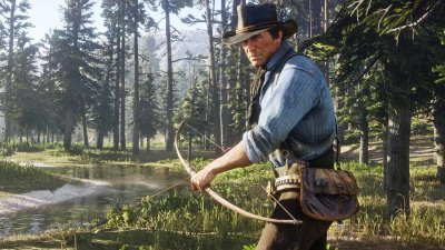 Игра Red Dead Redemption 2 [Blu-Ray диск] (PlayStation)