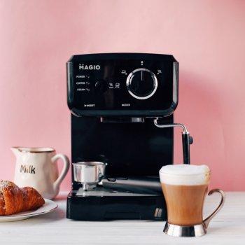 Кавоварка крапельна для кави, капучино та лате , потужність 1140 Вт, із світловим індикатором роботи MAGIO (МG-962)