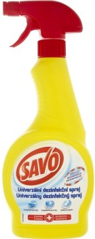 Универсальный дезинфицирующий спрей для чистки Savo 500 мл (8710908108419)