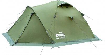 Палатка Tramp Mountain 2 (v2) Зеленая (TRT-022-green)
