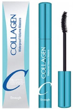 Водостійка туш для вій з колагеном Enough Collagen Waterproof Volume Mascara 9 мл (8809527482021)