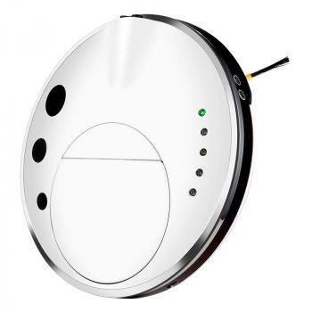 Тихий ультратонкий моющий робот-пылесос INSPIRE Galaxy с функцией ультразвуковой самоочистки FQ3C White