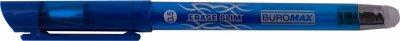 Набор гелевых ручек Buromax Erase Slim Пиши-стирай 0.5 мм Синий корпус 12 шт (BM.8300-01)
