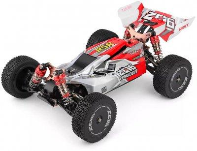 Машинка на радіокеруванні 1:14 багі WL Toys 144001 4WD Червона (WL-144001R) (2722122253840)