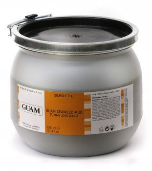 Грязьова маска з водоростей для живота і талії GUAM Seaweed Mud Tummy and Waist 3000 мл (4000 г)