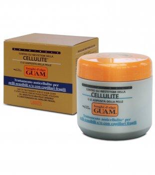 Маска GUAM грязевая антицеллюлитная из морских водорослей для чувствительной кожи и для кожи с хрупкими капиллярами 500 г (11102)
