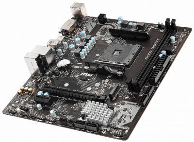 Материнська плата MSI A320M-A Pro Max (sAM4, AMD A320, PCI-Ex16)