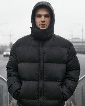 Зимняя мужская куртка Over Drive Homie черная
