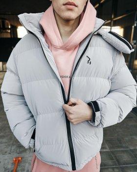 Зимняя мужская куртка Over Drive Homie Silk серый