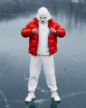 Зимняя мужская куртка Over Drive Homie красная