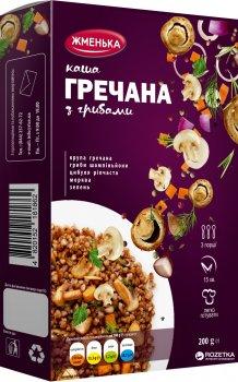Упаковка каши гречневой Жменька с грибами 200 г х 12 шт (4820152182012)