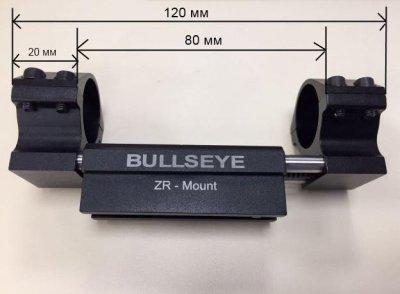 Моноблок с компенсатором отдачи для оптического прицела Diana ZR-Mount. 25,4 мм и 30 мм