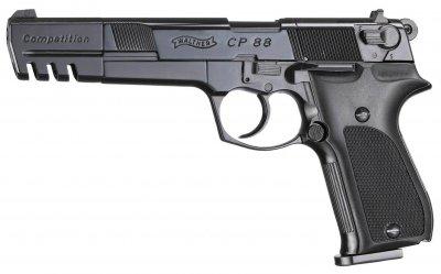 Пистолет пневматический Umarex Walther CP88 Competition черный (416.00.05)