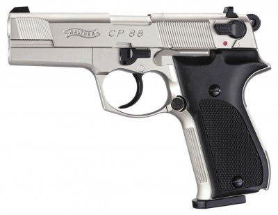 Пистолет пневматический Umarex Walther CP88 никель (416.00.03)