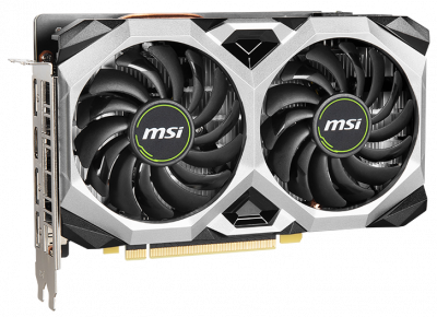 MSI PCI-Ex GeForce GTX 1660 Super Ventus XS OC 6GB GDDR6 (192bit) (1815/14000) (HDMI, 3 x DisplayPort) (GTX 1660 SUPER VENTUS XS OC)