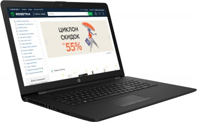 Ноутбук HP Notebook 17-ca1068ur (22Q72EA) Black