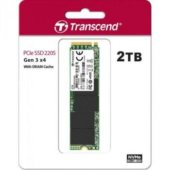 Твердотільний накопичувач SSD M. 2 Transcend 220S 2TB NVMe PCIe 3.0 4x 2280 (TS2TMTE220S)
