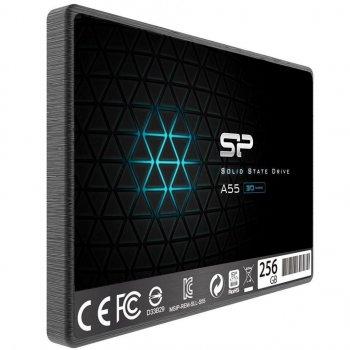 """Накопичувач SSD 2.5"""" SATA 256GB Silicon Power A55 (SP256GBSS3A55S25)"""