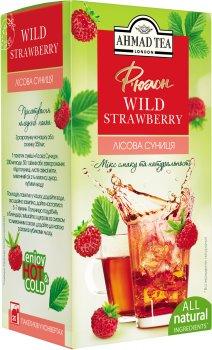 Упаковка чая фруктово-ягодного пакетированного Ahmad Tea Лесная земляника 12 шт по 20 пакетиков (0054881116817)