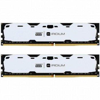 Оперативна пам'ять GOODRAM 8gb (2x4GB) DDR4 2400 MHz Iridium White(54664422)