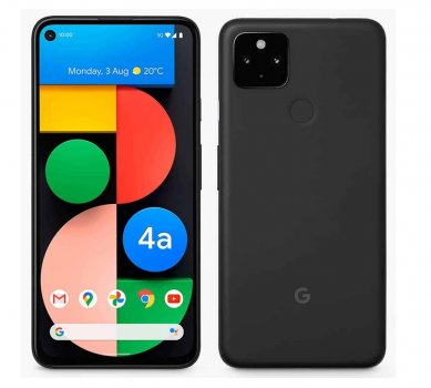 Смартфон Google Pixel 4a 5G 6/128GB Just Black (Європейська версія)
