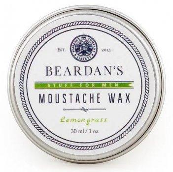Віск для вусів Beardans, Lemongrass, 30 мл R152345