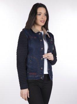 Джинсова куртка Giorgio di Mare Блакитна (GI2020467)