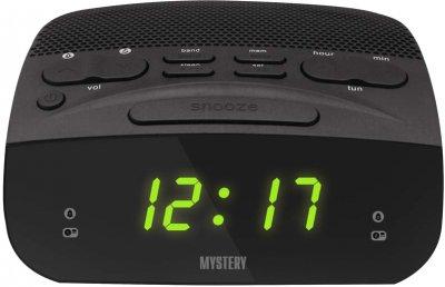 Радіогодинник Mystery MCR-23 Black-Green