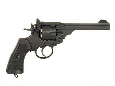 Револьвер Well Webley Scott MK IV Metal G293A CO2 (Страйкбол 6мм)
