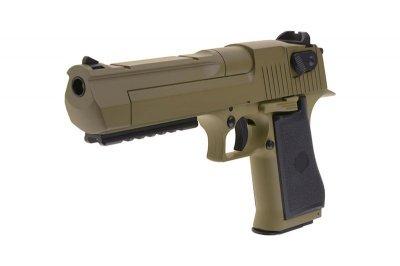 Пістолет Cyma Desert Eagle Rock CM.121 AEP Tan (Страйкбол 6мм)