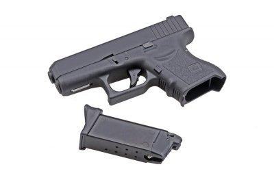 Пістолет KJW Glock 27 Plastic Slide GBB (Страйкбол 6мм)