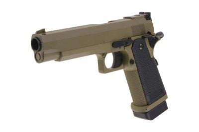 Пістолет Cyma Colt 1911 CM.128 AEP Tan (Страйкбол 6мм)