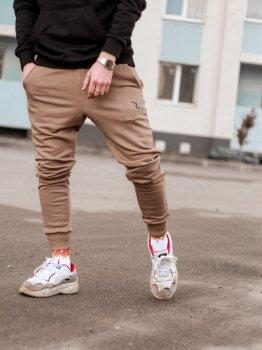 Спортивные штаны Over Drive Jog бежевые