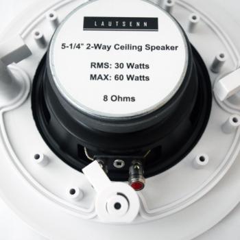 Вбудована акустика Lautsenn HST-541-T10 White