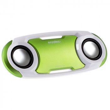 Акустика Enzatec SP509GR - FM radio/USB flash memory music player / Green (8610)