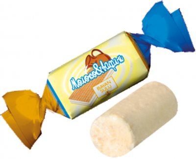 Конфеты Bayan Sulu Молоко & вафли 1 кг (4870200144936)