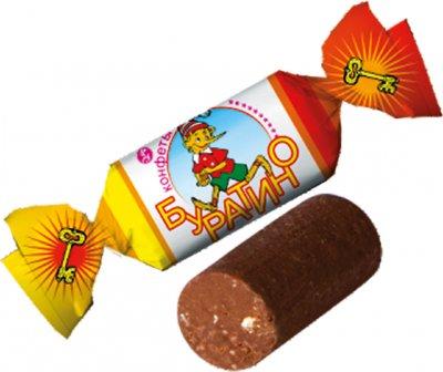 Конфеты Bayan Sulu Буратино 1 кг (4870200146329)