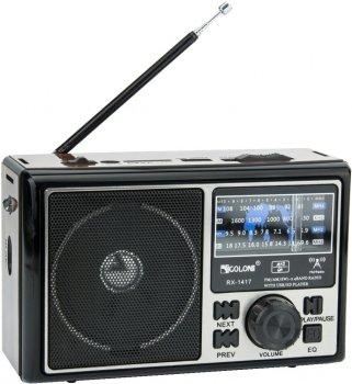 Радіоприймач GOLON RX 1417 Чорний (nk7491)