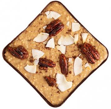 Шоколад Spell с карамелью, пеканом и кокосом 100 г (4820207310858_2188753887531)