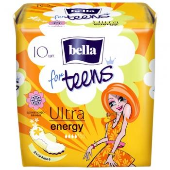 Гигиенические прокладки Bella for Teens Ultra Energy, 10 шт. (018569)