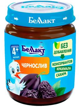 Пюре Беллакт Чорнослив, 100 г (250177)