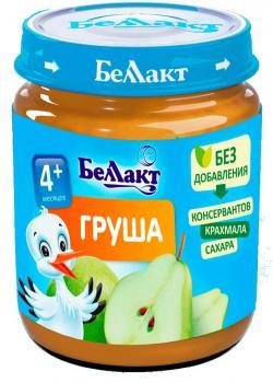Пюре Беллакт Груша, 100 г (250175)