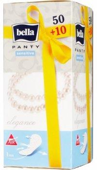 Ежедневные прокладки Bella Panty Sensitive Elegance, 50+10 шт. (001812)