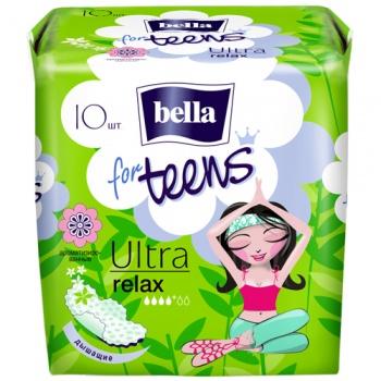 Гигиенические прокладки Bella for Teens Ultra Relax, 10 шт. (018568)