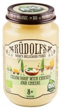 Пюре Rudolfs Крем-суп з куркою і сиром, 190 г (264883)