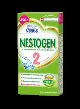 Сухая молочная смесь Nestogen 2, 350 г (002117)