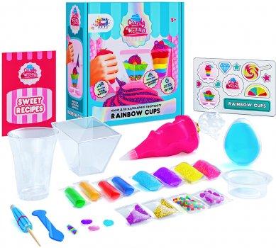 Набор для творчества с массой для декорирования OKTO Candy Cream Rainbow Cups (75003) (4820199474200)