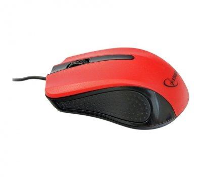 Миша Gembird MUS-101-R red/black