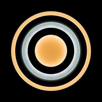 Світильник світлодіодний V-WATT Pulsus 90W пульт ДУ 1 (Настінно-стельовий, Люстра LED)