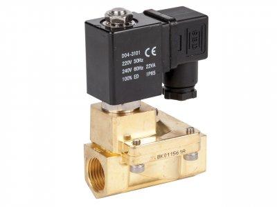 """Клапан електромагнітний нормально-відкритий Round Star ZW прямої дії (сідлової) ZW-15NK 1/2"""""""